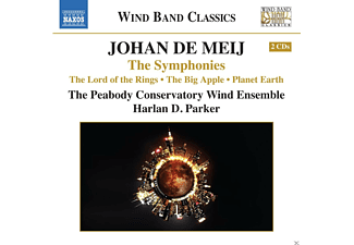 Peabody Conservatory Wind Ensemble - The Symphonies - (CD)