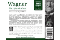 Stephen Johnson - Wagner-His Life and Music - (CD)