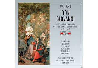 Sena Jurinac, Mirella Freni, Evans  Geraint, Chor der Royal Opera Covent Garden, Orchester der Royal Opera Covent Garden, Leyla Gencer, Cesare Siepi, Richard Lewis - Don Giovanni - (CD)