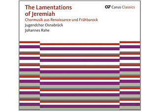 Johannes Rahe, Osnabrücker Jugendchor - The Lamentations of Jeremiah - (CD)