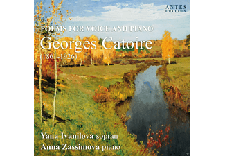 Anna Zassimova, Yana Ivanilova - Poems For Voice And Piano - (CD)