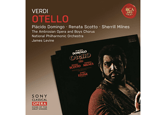 Plácido Domingo, Renata Scotto, Sherrill Milnes, Ambrosian Opera Chorus, The National Philharmonic Orchestra - Otello - (CD)