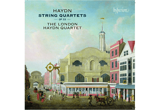 The London Haydn Quartet - String Quartets op.33 - (CD)