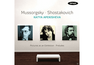 Katya Apekisheva - Pictures At An Exhibition / Preludes - (CD)