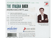 Andrea Bacchetti - The Italian Bach (Vol.1) [CD]