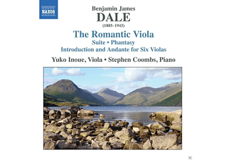 Yuko Inoue, Stephen Coombs - The Romantic Viola - (CD)