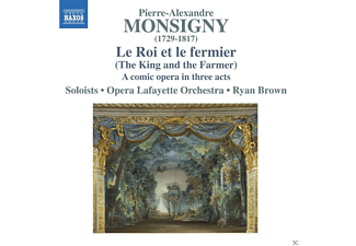 Thomas Michael Allen, William Sharp, Jeffrey Thompson, Yulia Van Doren, Dominique Labelle, Delores Ziegler, Opera Lafayette Orchestra, Thomas Dolie - Le Roi et le fermier - (CD)