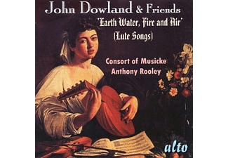 Anthony Rooley, Consort Of Musicke - Earth,Water,Fire and Air' (Lute Songs) - (CD)