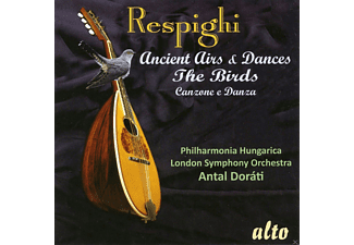 Philharmonia Hungaria, London Symphoni Orchestra - Ancient Airs & Dances / The Birds - (CD)