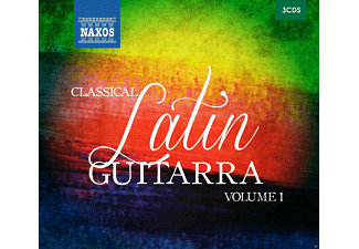 VARIOUS - Latin Guitarra Volume 1 - (CD)