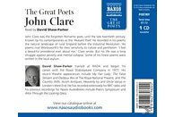 David Shaw-Parker - The Great Poets - (CD)