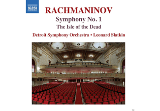 Detroit Symphony Orchestra - Symphony No.1 / The Isle Of The Dead - (CD)