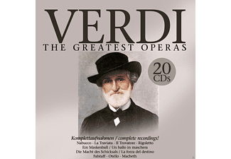 VARIOUS, Various Orchestras - Verdi: The Greatest Operas - (CD)