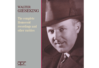 Walter Gieseking - The Complete Homocord Recordings And Other Rarities - (CD)
