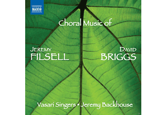 The Vasari Singers, Jeremy Backhouse, Briggs David, Jeremy Filsell - Choral Music Of - (CD)