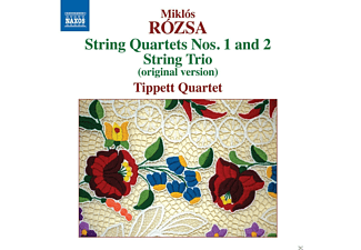 The Tippett Quartet - String Quartets Nos. 1 And 2 - String trio - (CD)