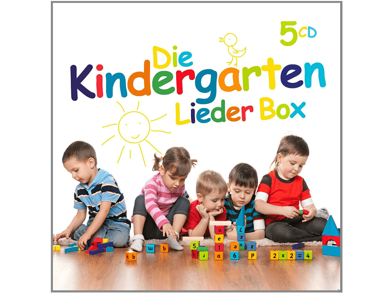 VARIOUS - Die Kindergarten Lieder Box - (CD)