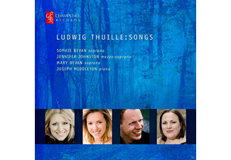 Joseph Middleton, Sophie Bevan, Jennifer Johnston, Mary  Bevan - Lieder - (CD)