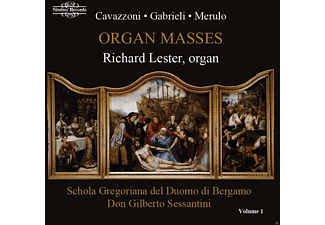 Richard Lester - Organ Masses Vol.1 - (CD)