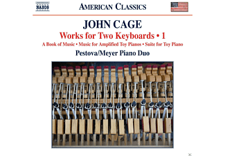 Pascal Meyer, Xenia Pestova - Works For Two Keyboards I - (CD)