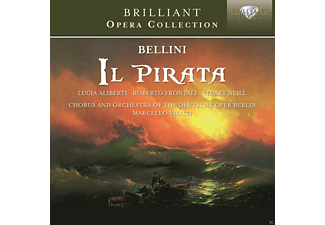 Lucia Aliberti, Roberto Frontali, Stuart Neill, Chorus And Orchestra Of The Deutsche Oper Berlin, Marcello Viotti - Il Pirata - (CD)