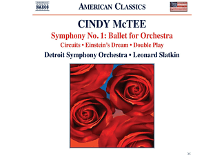 Detroit Symphony Orchestra - Sinfonie 1: Ballet For Orchestra - (CD)