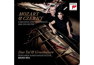 Tal & Groethuysen, Münchner Rundfunkorchester - Mozart &Czerny Concerti For Two Pianists And Orchestre [CD]