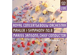 Royal Concertgebouw Orchestra - Symphony No.8 - (CD + DVD Video)