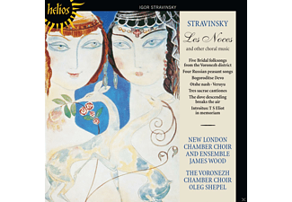 New London Chamber Choir And Ensemble, Voronezh Chamber Choir - Les Noces And Other Choral Music - (CD)