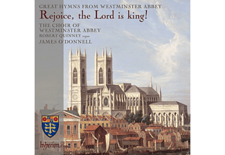 Robert Quinney, The Choir Of Westminster Abbey - Rejoice, The Lord Is King! - (CD)