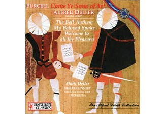 VARIOUS, Ambrosian Singers, Kalmar Chamber Orchestra Of London - Ode For St.Cecilia's Day - (CD)