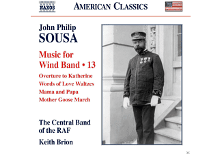 The Central Band Of The R.a.f - Music For Wind Band Vol.13 - (CD)