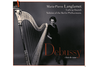 Marie-pierre Langlamet, Ludwig Quandt, The Berlin Philharmonic  Soloists - Clair De Lune - (CD)