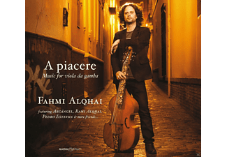 Fahmi Alqhai - A Piacere: Music For Viola Da Gamba - (CD)