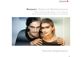Klavierduo Chipak-kushnir - Theatrical Reminiscenses - (CD)