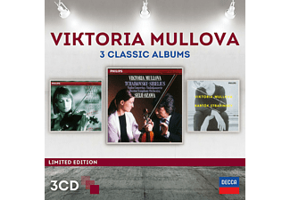 Viktoria Mullova, Los Angeles Philharmonic Orchestra, Berliner Philharmoniker, Boston Symphony Orchestra - Viktoria Mullova-3 Classic Album (Ltd.Edt.) - (CD)