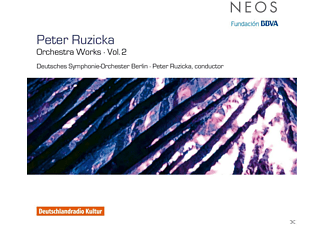 Deutsches Symphonie-orchester Berlin - Peter Ruzicka: Orchestra Works Vol. 2 - (CD)
