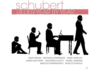 VARIOUS - Schubert: Lieder Year By Year - (CD)