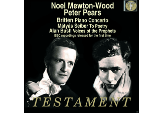 London Symphony Orchestra, Pears Peter, Noel Mewton-wood - Piano Concerto / To Poetry / Voices Of The Prophets - (CD)