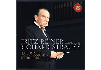 Pittsburgh Symphony Orchestra - Fritz Reiner Conducts Strauss-Complete Recordings - (CD)