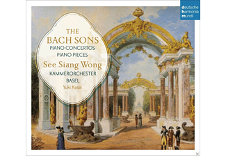 See Siang Wong;Kammerorchester Basel - The Bach Sons: Piano Concertos & Solo Pieces - (CD)