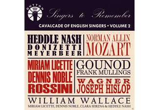 VARIOUS - Cavalcade Of English Singers Vol.2 - (CD)
