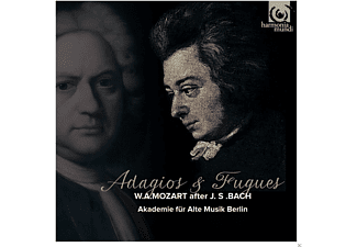 Akademie Für Alte Musik Berlin - Adagios & Fugues After Bach - (CD)