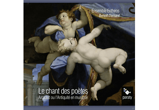 Ensemble Entheos, Benoit Damant - Le Chant Des Poetes - (CD)