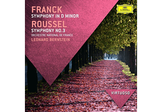 Orchestre National De France - Franck: Sinfonie In D-Moll / Roussel: Sinfonie No. 3 [CD]