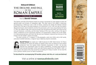 David Timson - Decline and Fall of the Roman Empire 2 - (CD)