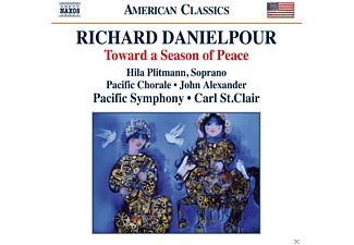 Pacific Chorale, John Alexander, Hila Plittmann - Toward A Season Of Peace - (CD)