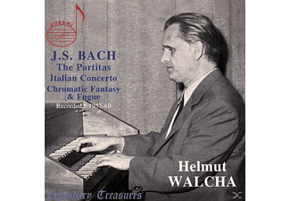 Helmut Walcha (cembalo Ammer) 1957-1960 - Bach: Six Partitas - (CD)