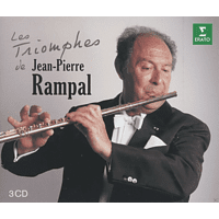 Jean Martinon, Theodor Guschlbauer, Raymond Leppart, Marie-Claire Alain, Lily Laskine, Casadesus Jean-claude, Rampal Jean-pierre - Les Triomphes De Jean-Pierre Rampal [CD]