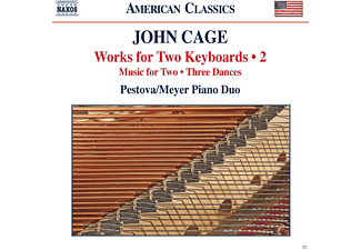Xenia Pestova, Pascal Meyer - Cage: Works For Two Keyboards 2 - (CD)